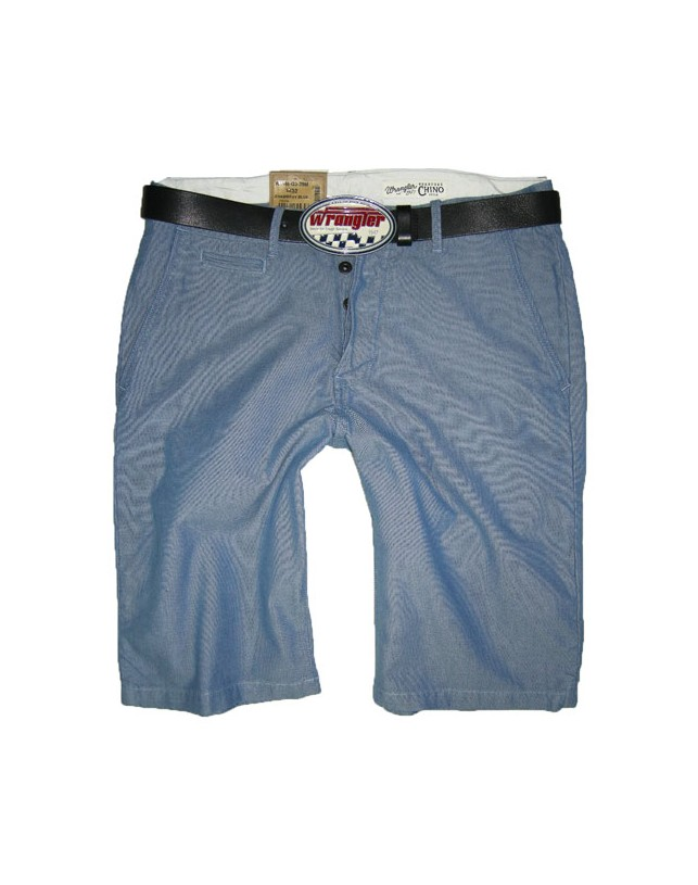 Spodenki Wrangler Chino Short Chambray Blue W14MQ339M
