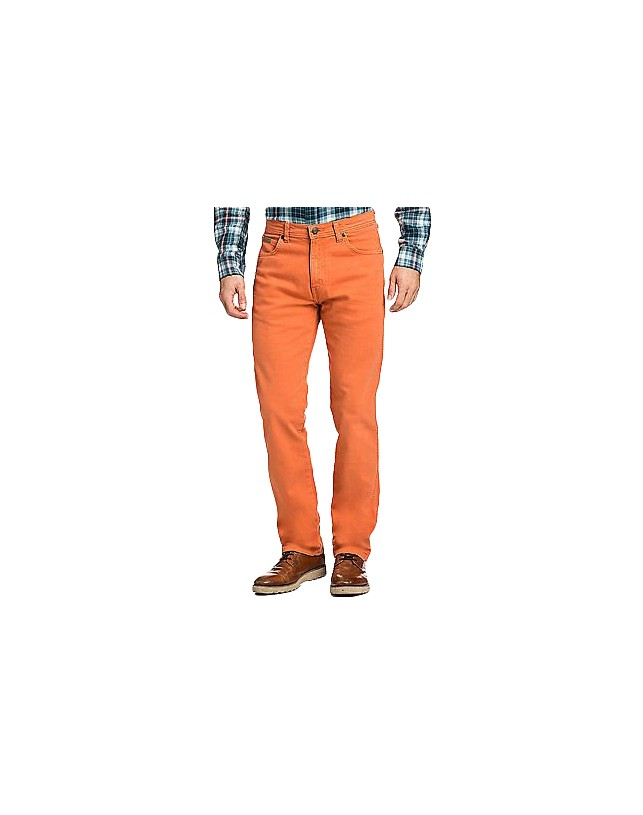 Jeansy Wrangler arizona stretch mango