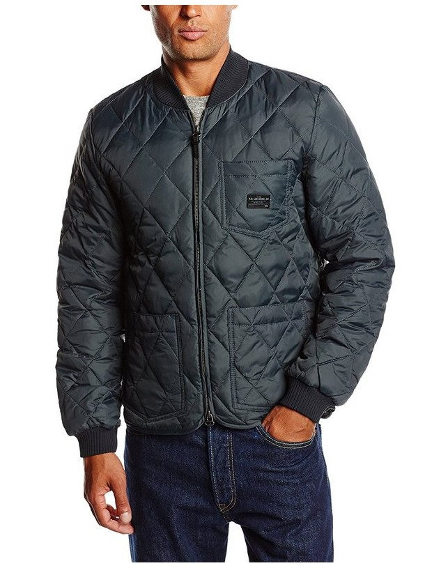 Kurtka Lee quilted down bomber