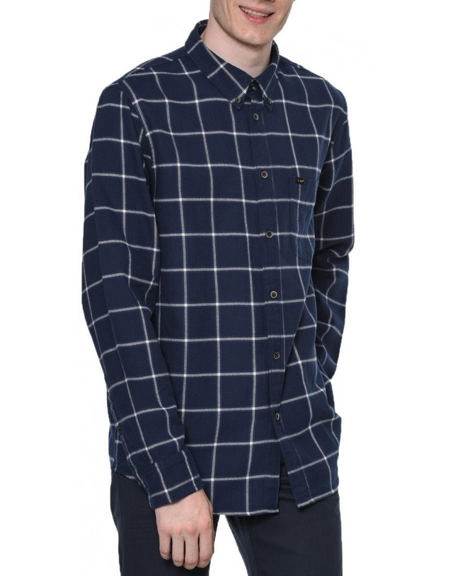 KOSZULA LEE BUTTON DOWN MEDIEVAL BLUE