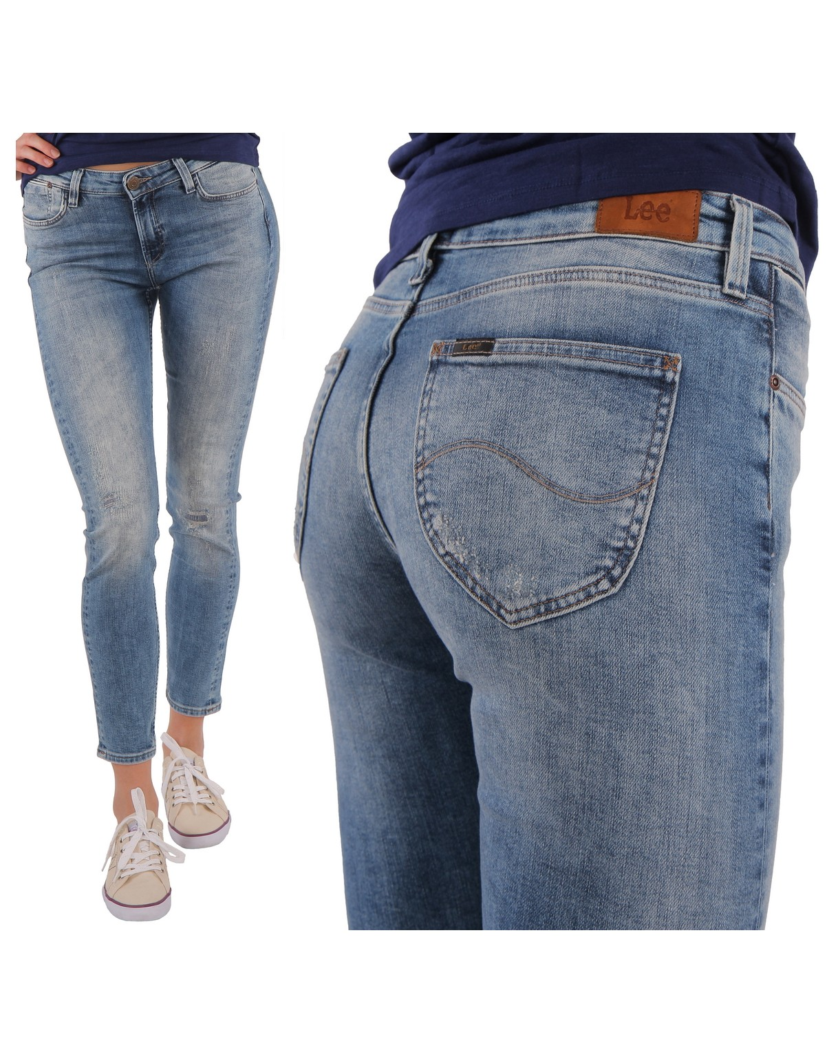 JEANSY LEE SCARLETT SELVAGE EASTSIDE REPAIR denimking