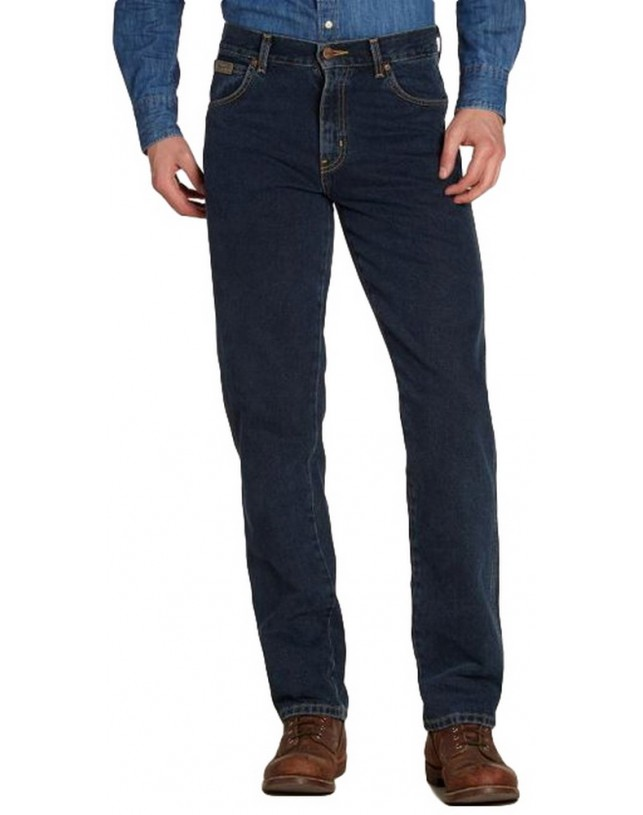 JEANSY WRANGLER TEXAS BLUE BLACK ORIGINAL REGULAR