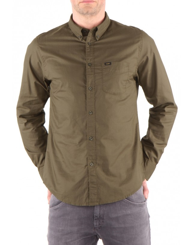 Koszula Lee Button Down Military Khaki